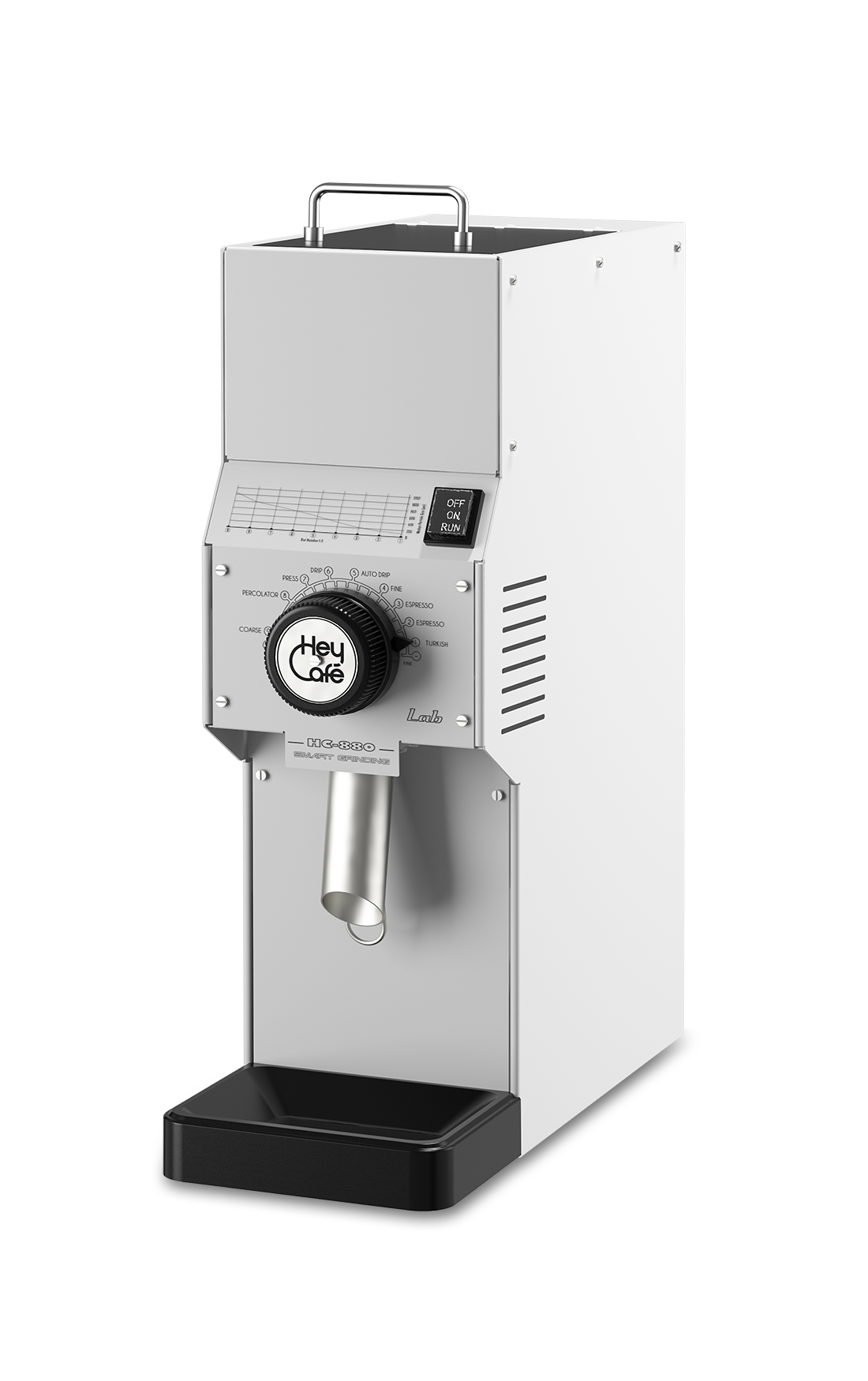 HeyCafe HC-880 LAB S shop grinder